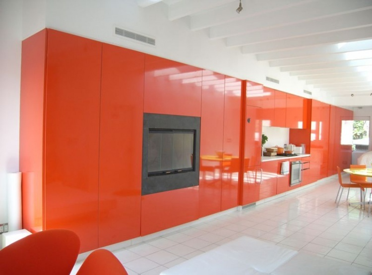 Van Rooij Griffiths Red Gloss Apartment